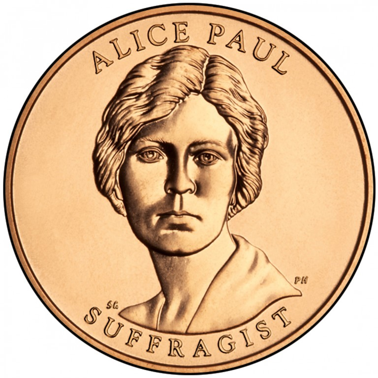 Alice Paul Suffragist First Spouse Bronze Medal Obverse
