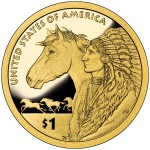 2012 Native American One Dollar Proof Reverse