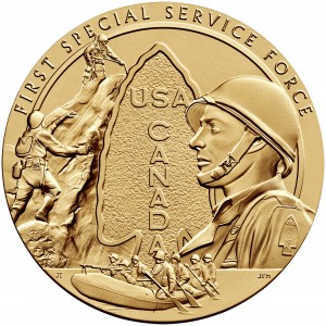 2013 First Special Service Force Bronze Medal Obverse