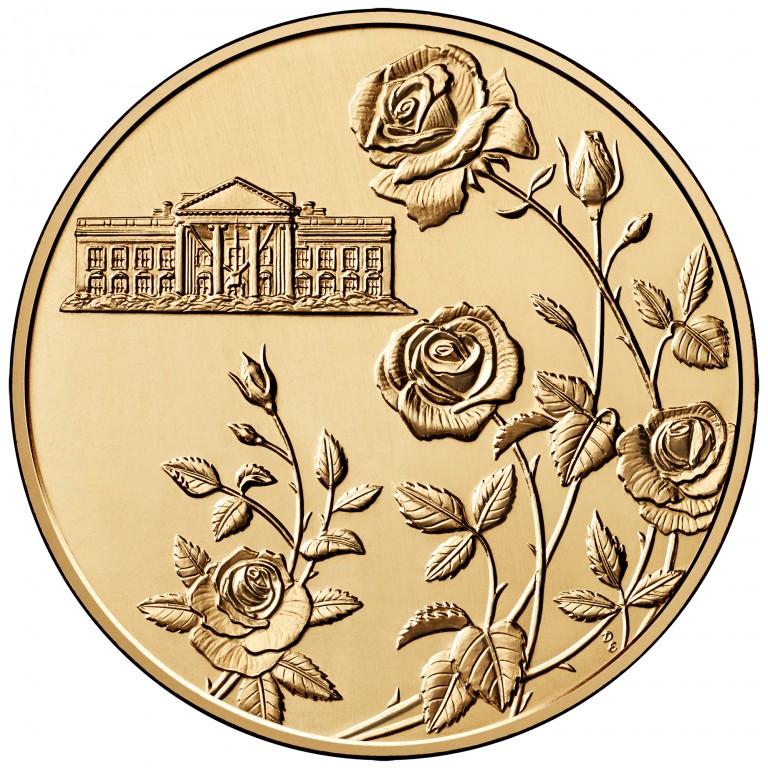 Ellen Wilson First Spouse Bronze Medal Reverse