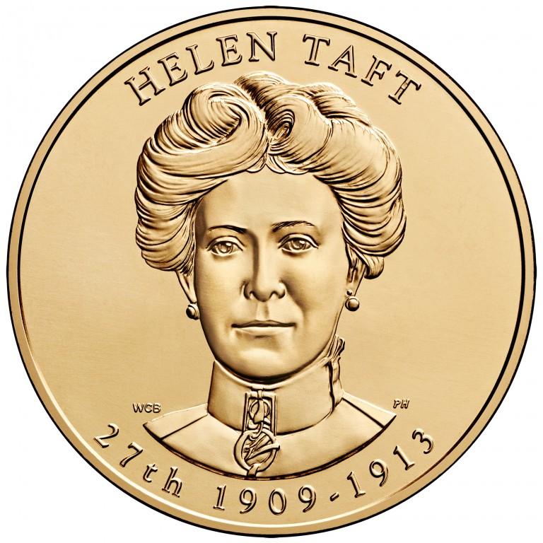 Helen Taft First Spouse Bronze Medal Obverse