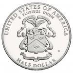 2013 Five Star Generals Commemorative Clad Half Dollar Proof Reverse