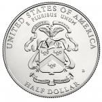 2013 Five Star Generals Commemorative Clad Half Dollar Uncirculated Reverse