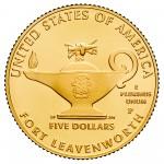 2013 Five Star Generals Commemorative Gold Five Dollar Uncirculated Reverse