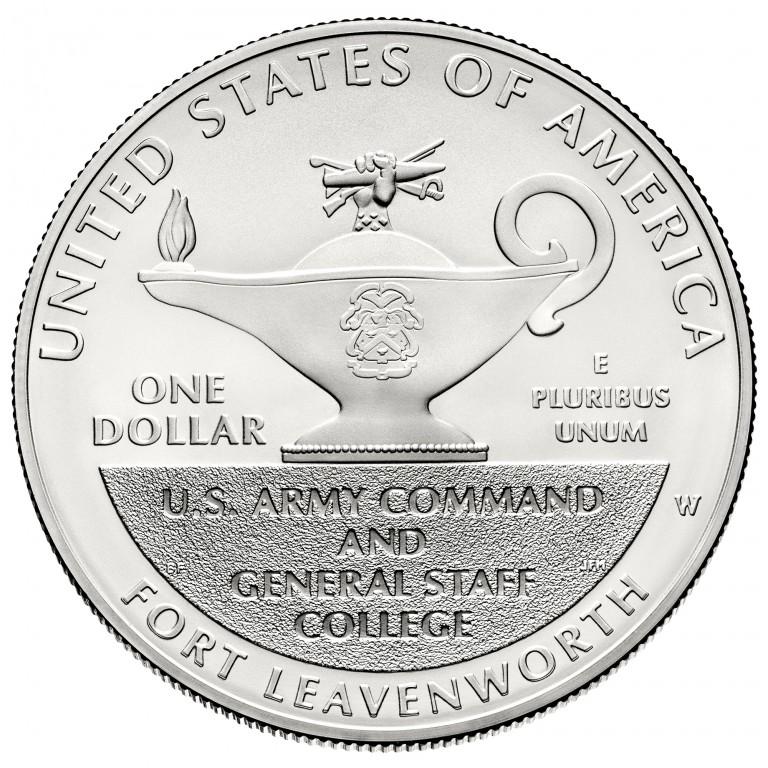 2013 Five Star Generals Commemorative Silver One Dollar Uncirculated Reverse