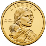 2013 Native American One Dollar Uncirculated Obverse