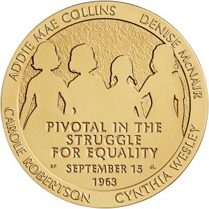 2013 Sixteenth Street Baptist Church Bronze Medal Three Inch Obverse