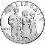 2014 Civil Rights Act Of 1964 Commemorative Silver One Dollar Proof Obverse