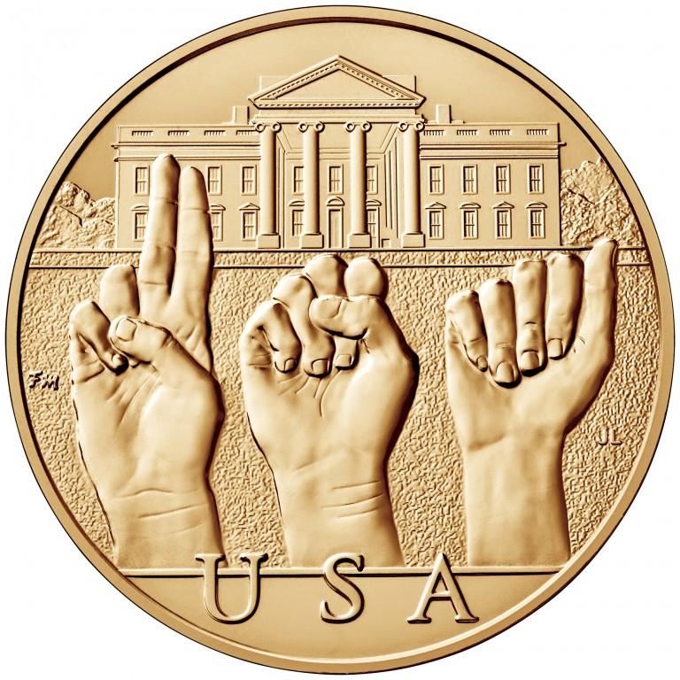 Grace Coolidge First Spouse Bronze Medal Reverse