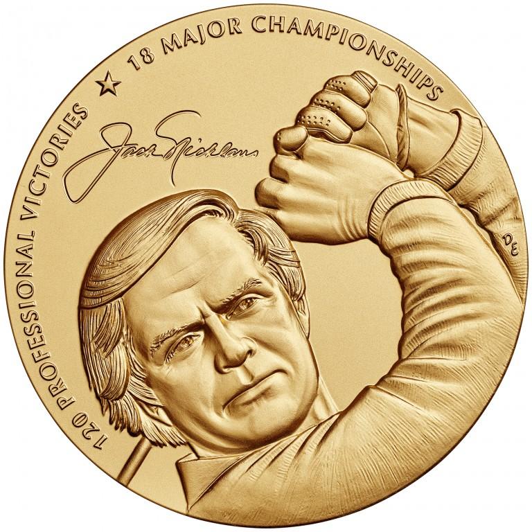 2014 Jack Nicklaus Bronze Medal Obverse