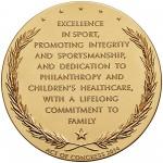 2014 Jack Nicklaus Bronze Medal Reverse