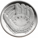2014 National Baseball Hall Of Fame Commemorative Clad Half Dollar Proof Obverse