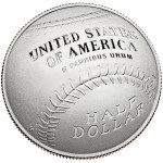 2014 National Baseball Hall Of Fame Commemorative Clad Half Dollar Proof Reverse