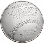 2014 National Baseball Hall Of Fame Commemorative Clad Half Dollar Uncirculated Reverse