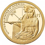2014 Native American One Dollar Proof Reverse