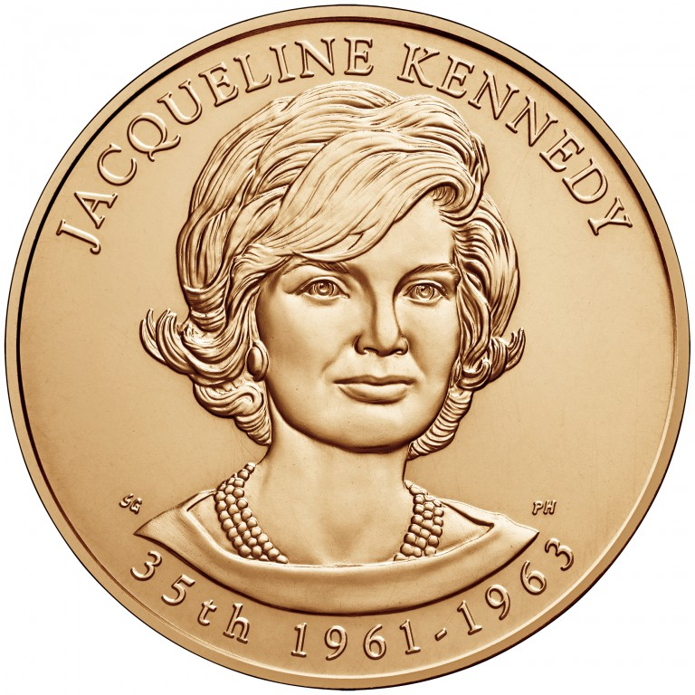 Jacqueline Kennedy First Spouse Bronze Medal Obverse