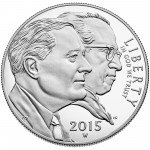 2015 March Of Dimes Commemorative Silver One Dollar Proof Obverse