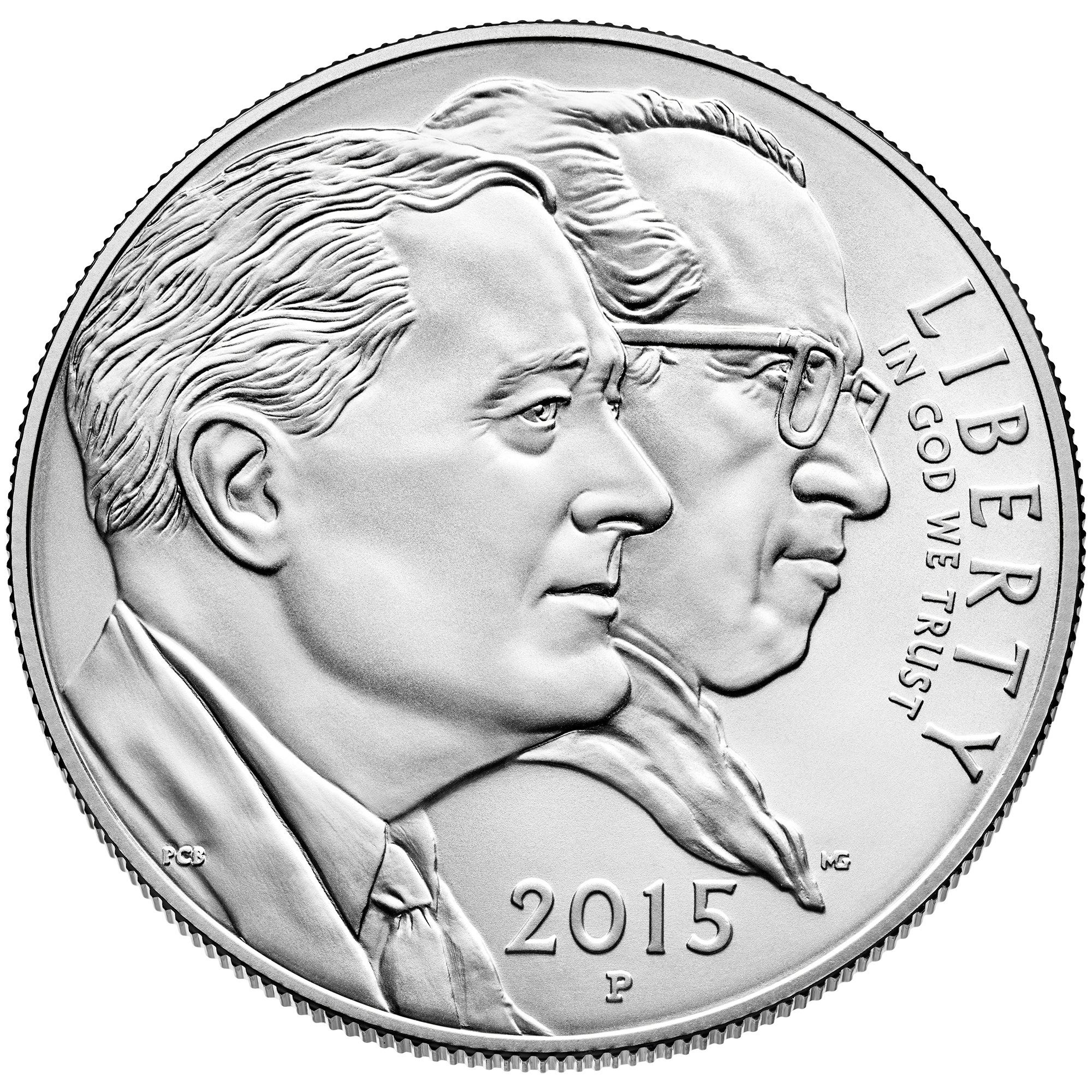 2015 March Of Dimes Commemorative Silver One Dollar Uncirculated Obverse