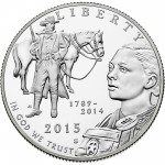 2015 United States Marshals 225Th Anniversary Commemorative Clad Half Dollar Proof Obverse