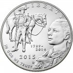 2015 United States Marshals 225Th Anniversary Commemorative Clad Half Dollar Uncirculated Obverse