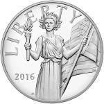 2016 American Liberty Silver Medal Obverse