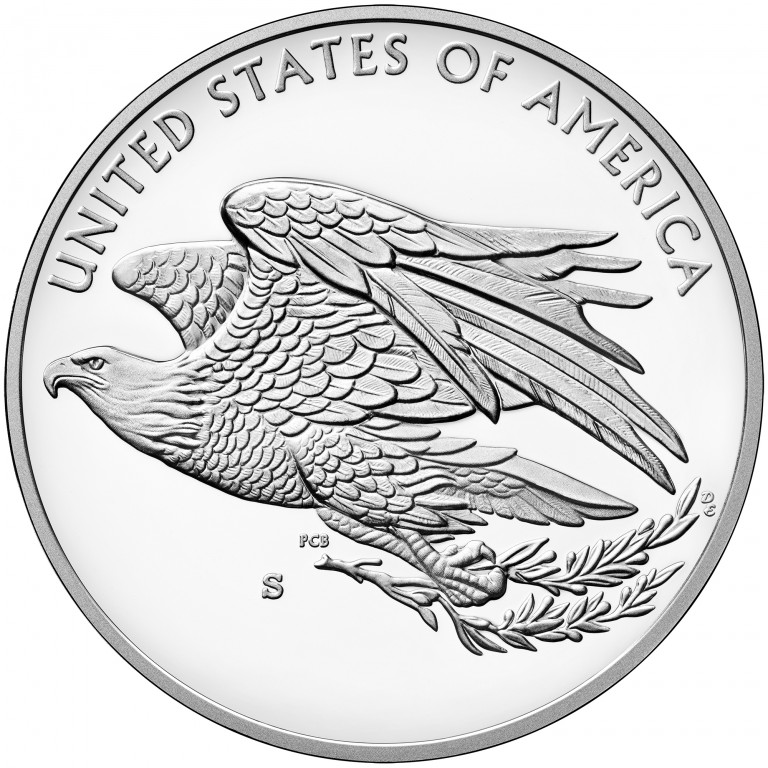 2016 American Liberty Silver Medal Reverse