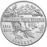 2016 National Park Service Centennial Commemorative Clad Uncirculated Obverse