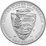 2016 National Park Service Centennial Commemorative Clad Uncirculated Reverse