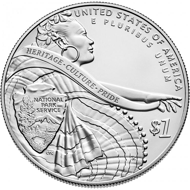 2016 National Park Service Centennial Commemorative Silver Uncirculated Reverse