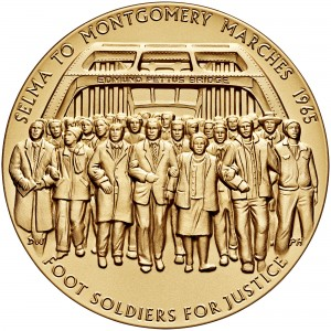 2016 Selma Foot Soldiers Bronze Medal Three Inch Obverse