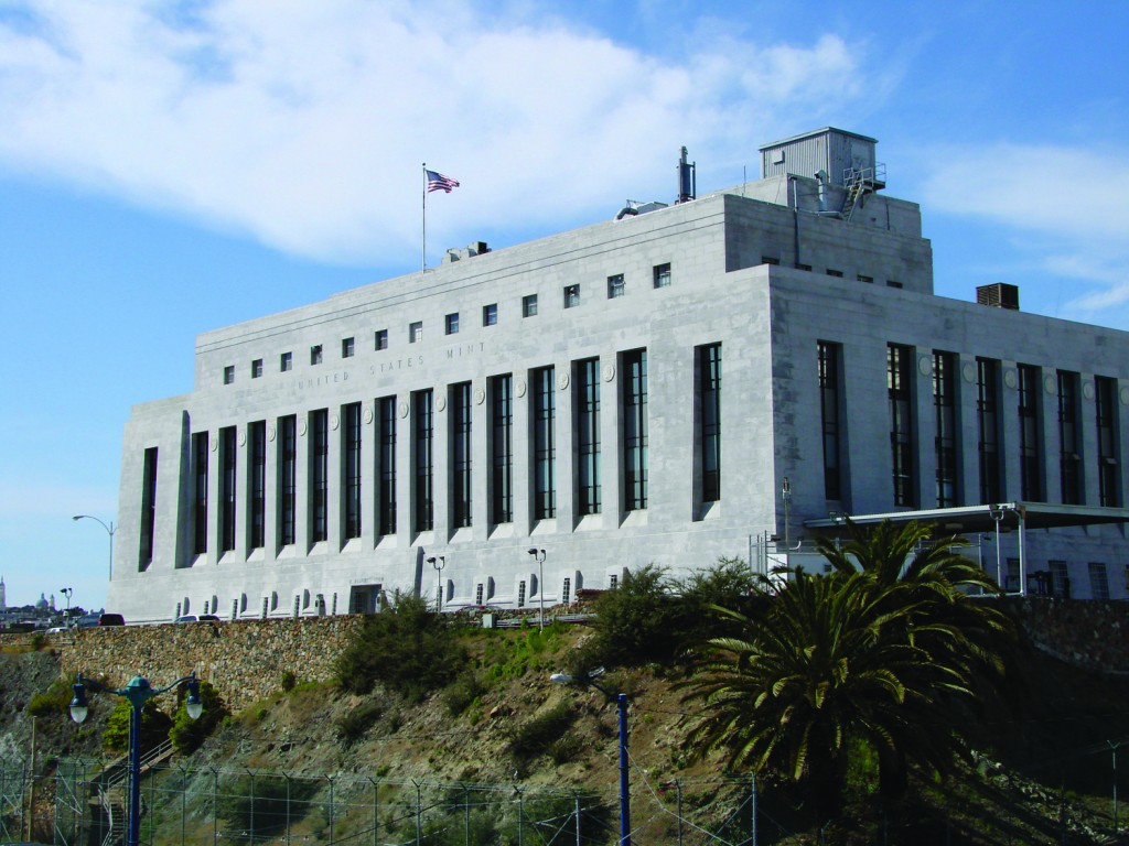 US Mint facility at San Francisco