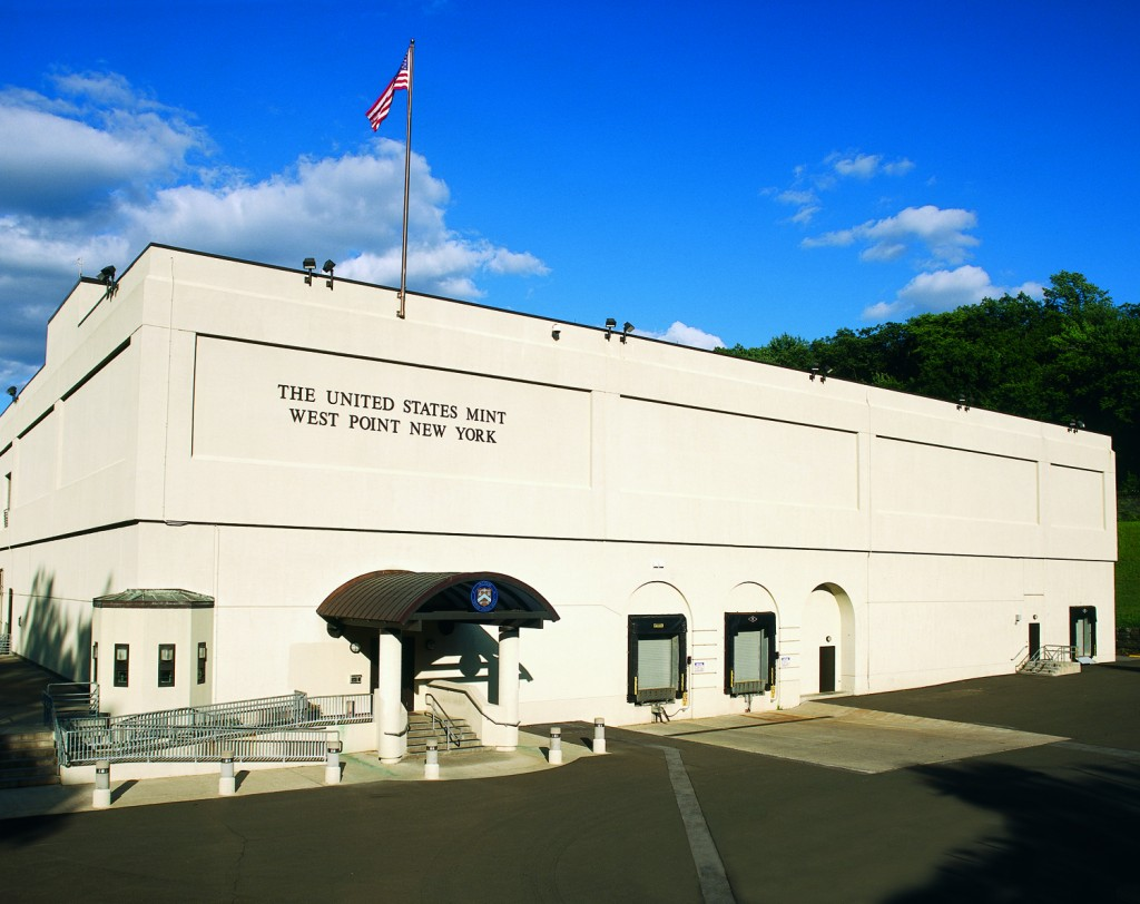 US Mint facility at West Point