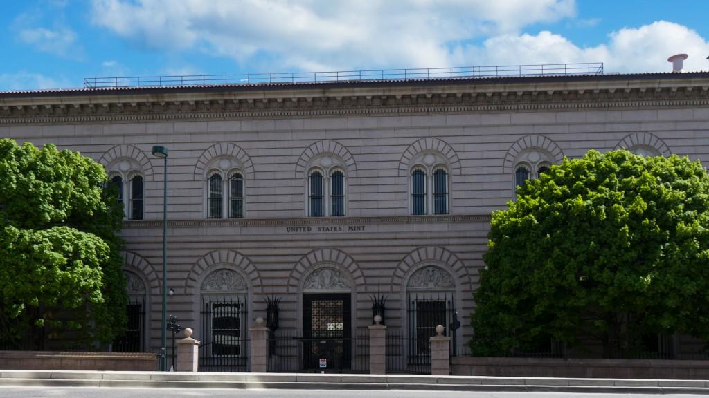 The U.S. Mint in Denver