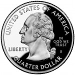 2003 50 State Quarters Proof Obverse