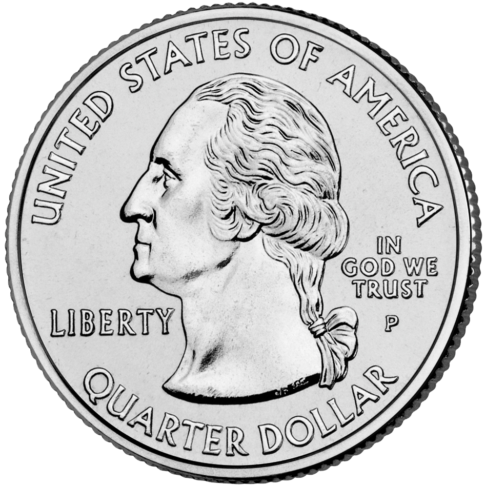 2003 50 State Quarters Coin Uncirculated Obverse