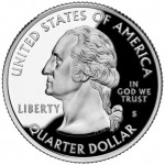 2004 50 State Quarters Coin Proof Obverse