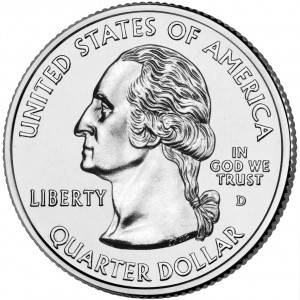 2005 50 State Quarters Coin Uncirculated Obverse