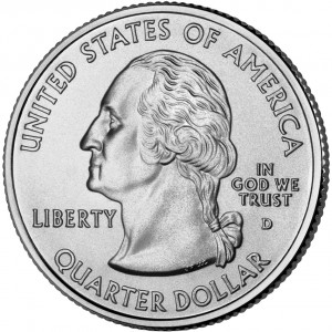 2006 50 State Quarters Coin Uncirculated Obverse