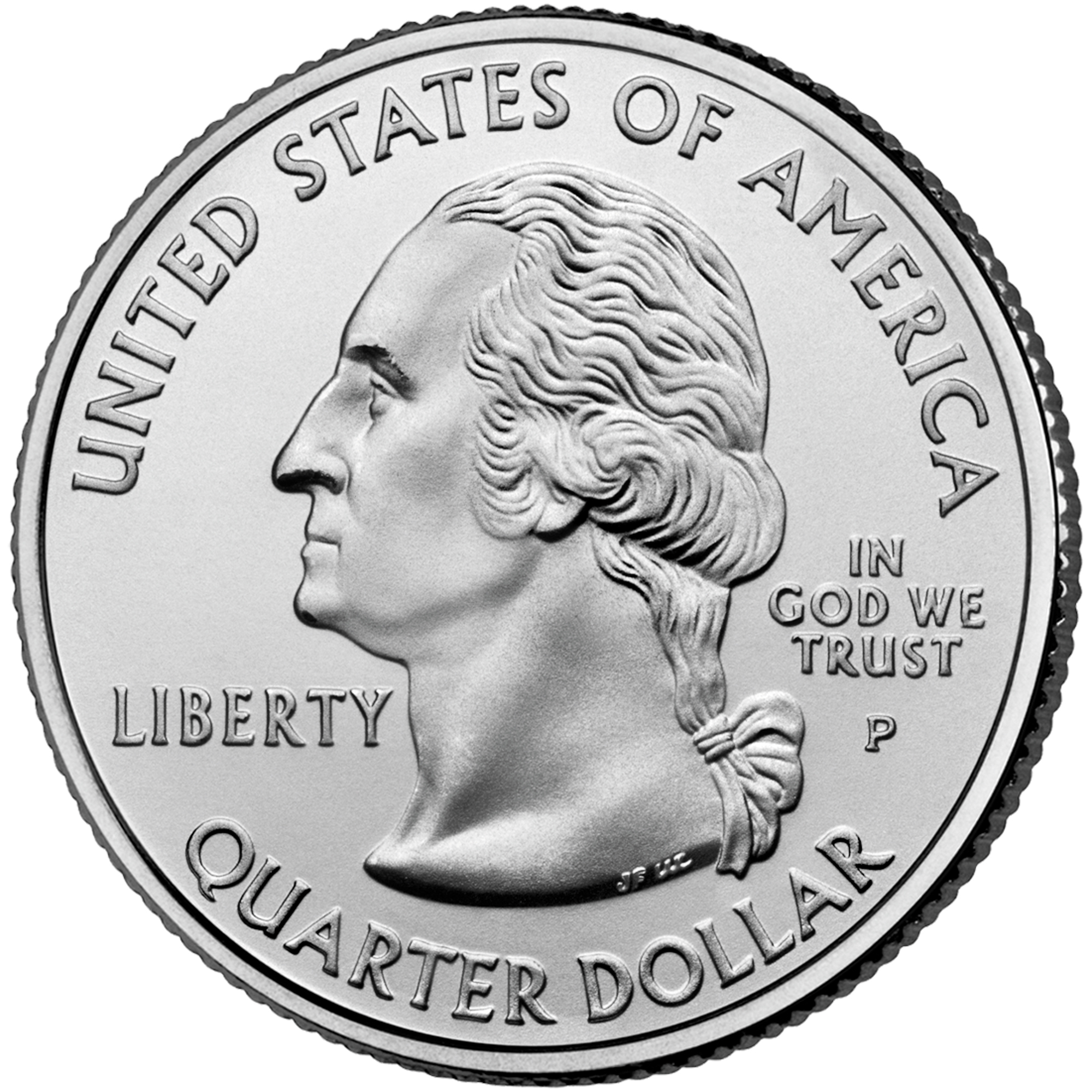 2007 50 State Quarters Coin Uncirculated Obverse