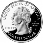 2008 50 State Quarters Coin Proof Obverse