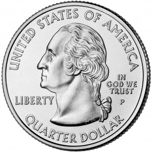 2008 50 State Quarters Coin Uncirculated Obverse