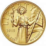 2015 American Liberty High Relief Gold Coin Obverse