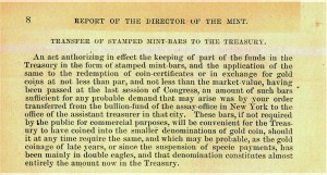 1874 Annual Report excerpt, page 8. Full text is duplicated in the body of this page.