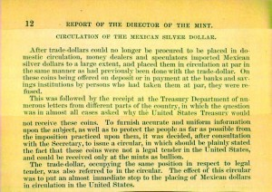 1878 Annual Report excerpt, page 12. Full text is duplicated in the body of this page.