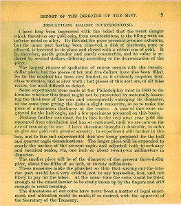 1878 Annual Report excerpt, page 9. Full text is duplicated in the body of this page.