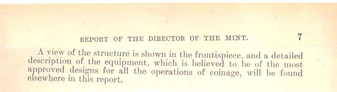 1906 Annual Report Excerpt, Page 7