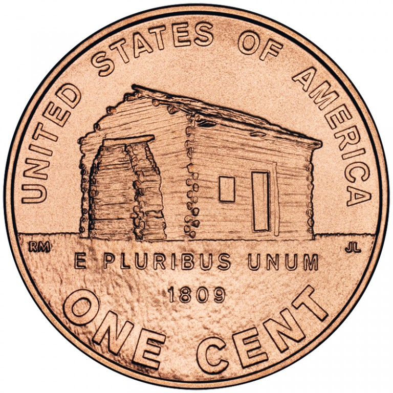 2009 Lincoln Cent Penny Birth Childhood Kentucky Uncirculated Reverse