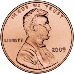 2009 Lincoln Cent Penny Uncirculated Obverse