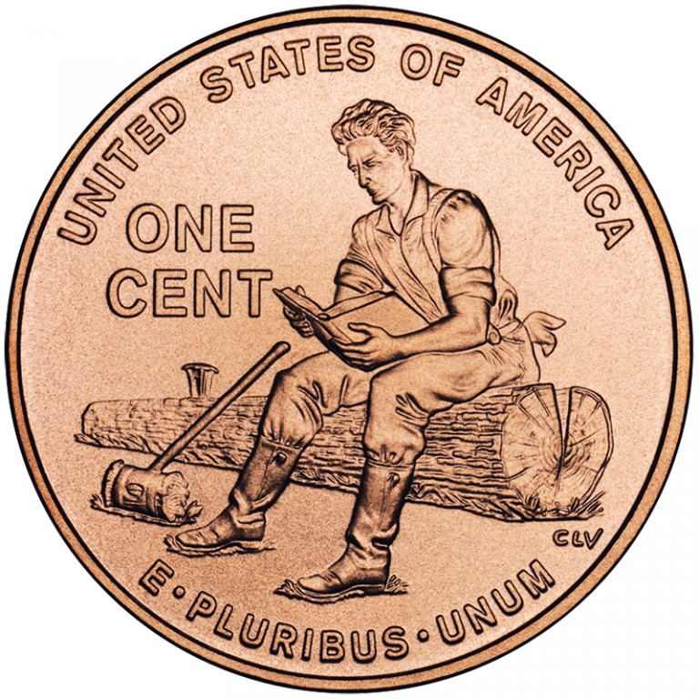 2009 Lincoln Cent Penny Youth Indiana Uncirculated Reverse