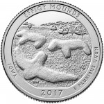 2017 America the Beautiful Quarters Coin Effigy Mounds Iowa Proof Reverse